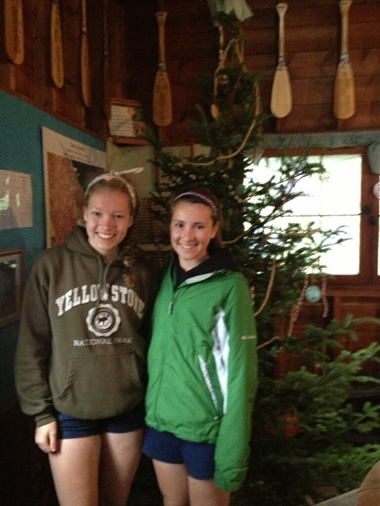 Mary & Katelyn at Camp Vermilion