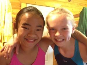 ThiLe & Kelsey at Camp Hiawatha